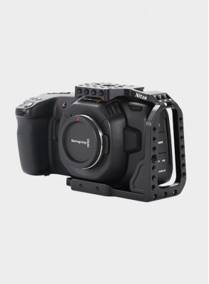 Nitze BMPCC 4K Camera Half Cage for Blackmagic Pocket Cinema Camera 4K - TP14