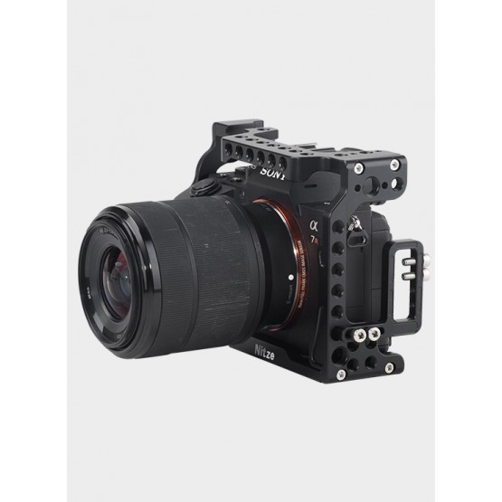 NITZE CAMERA CAGE FOR SONY A7II / A7III SERIES CAMERA—TP12
