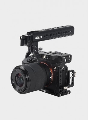 NITZE CAMERA CAGE FOR SONY A7II / A7III SERIES CAMERA—SHT03B