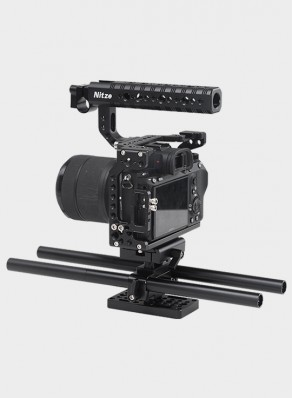 Nitze Camera Cage For Sony A7II / A7III Series Camera—STK03B