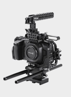 Nitze Camera Cage Kit for BMPCC 4K - BTK01