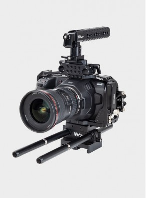 Nitze BMPCC 4K/6K Camera Cage Kit for Blackmagic Pocket Cinema Camera 4K/6K - BTK-B6K