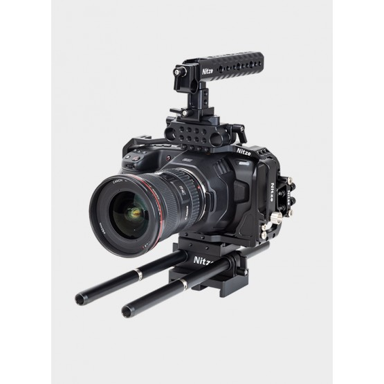 Nitze Camera Cage Kit for BMPCC 4K/6K - BTK-B6K