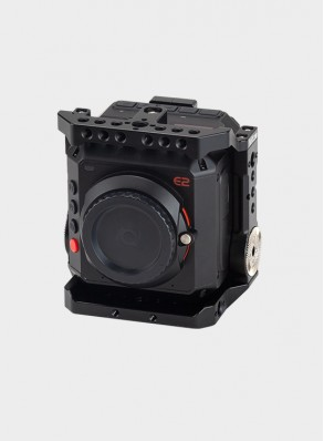 Nitze Cage for Z CAM E2 Camera with Built-in NATO Rails and ARRI Rosettes - TP-E2-II