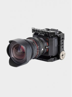 Nitze E2C Cage for Z CAM E2C Camera with Built-in NATO Rails and Built-in ARRI Rosette - TP-E2C