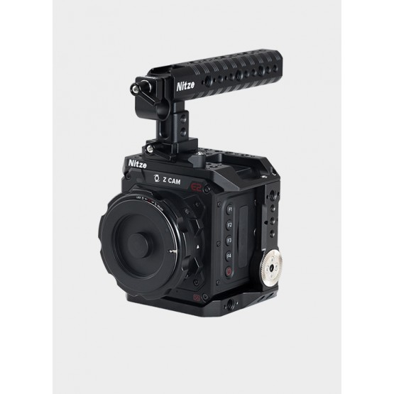 Nitze Cage for Z CAM E2-S6/F6/F8 Camera with NATO Handle - ZHT-E2-FS
