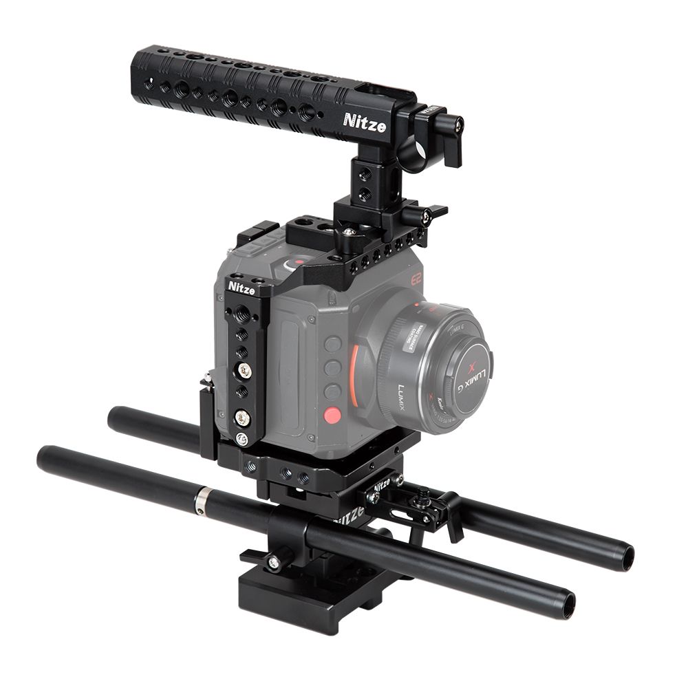 Nitze Cage kit for Z CAM E2 Camera - ZTK-E2