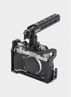 Nitze Basic Camera Cage Kit for Fujifilm X-T2 / X-T3 - FHT-XT3