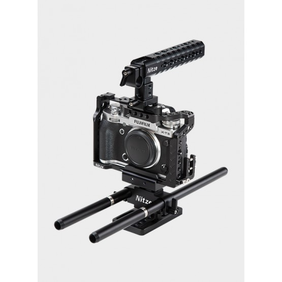 Nitze Camera Cage Kit for Fujifilm X-T2 / X-T3 - FTK-XT3
