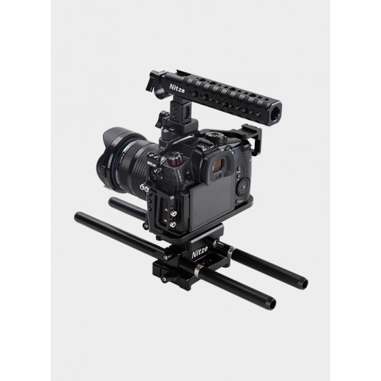 Nitze Camera Cage Kit for Panasonic Gh5/Gh5s—PTK01