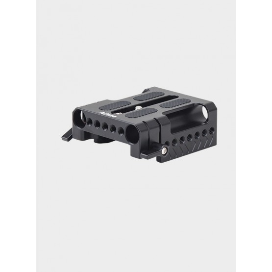 Nitze 15mm Quick Release Baseplate with ARRI Dovetail Clamp - DP-C15-A