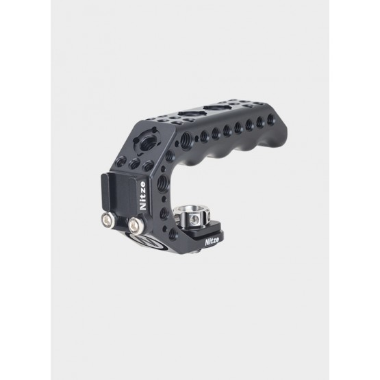 """Nitze Lil Stinger Handle with 3/8"""" ARRI Locating Pins - PA28M-BK"""