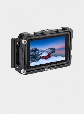 "Nitze 5"" Monitor Cage for Atomos Ninja V / Shinobi Monitor with HDMI Cable Clamp - TP-NINJA V"