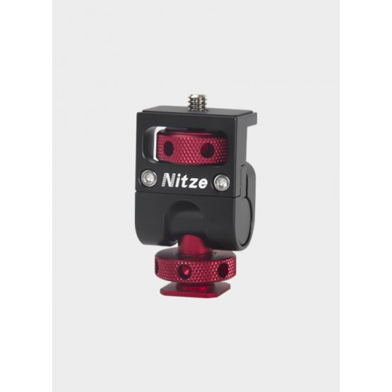 "Nitze Monitor Holder Mount (Cold shoe to 1/4""-20 Screw) - N54"