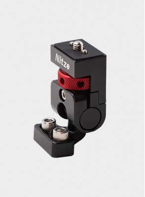 "Nitze Monitor Holder Mount (1/4""-20 to 1/4""-20 Screw with Locating Pins) - N54-C2"