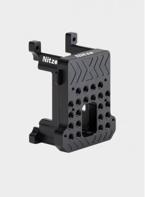 """Nitze Monitor Holder Mount (1//4/""""-20 Screw with Locating Pins) with 1//4/""""Screws Mount N54-C2"""
