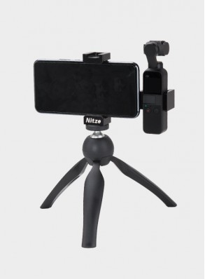 NITZE handheld phone holder tripod mount stand for DJI OSMO Pocket - OSMO-02